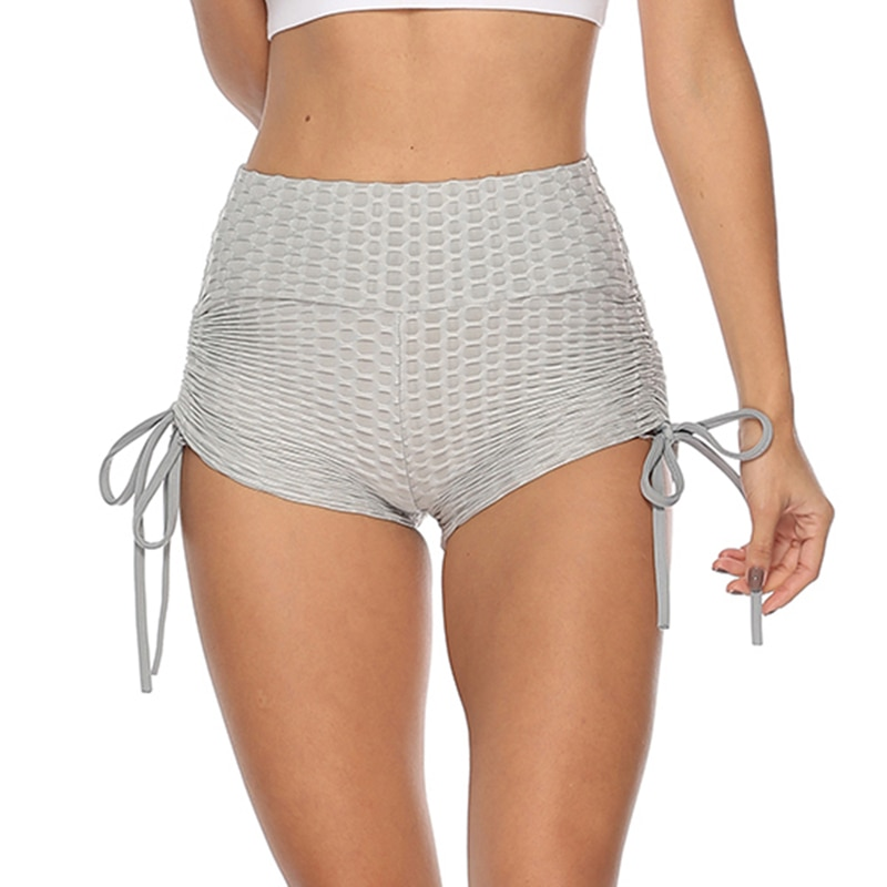 Women's Textured Yoga Shorts
